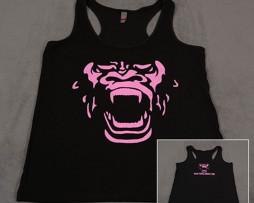 Black & Pink Women's Tank Top