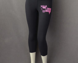She 2 Strong Pink Face Yoga Pant