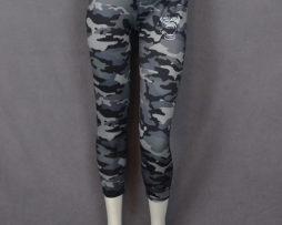 Grey Camouflage Yoga Pant