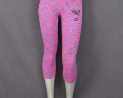 Pink Textured Yoga Pant