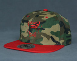 Red G-Face SnapBack