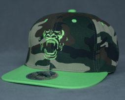 Green G-Face SnapBack